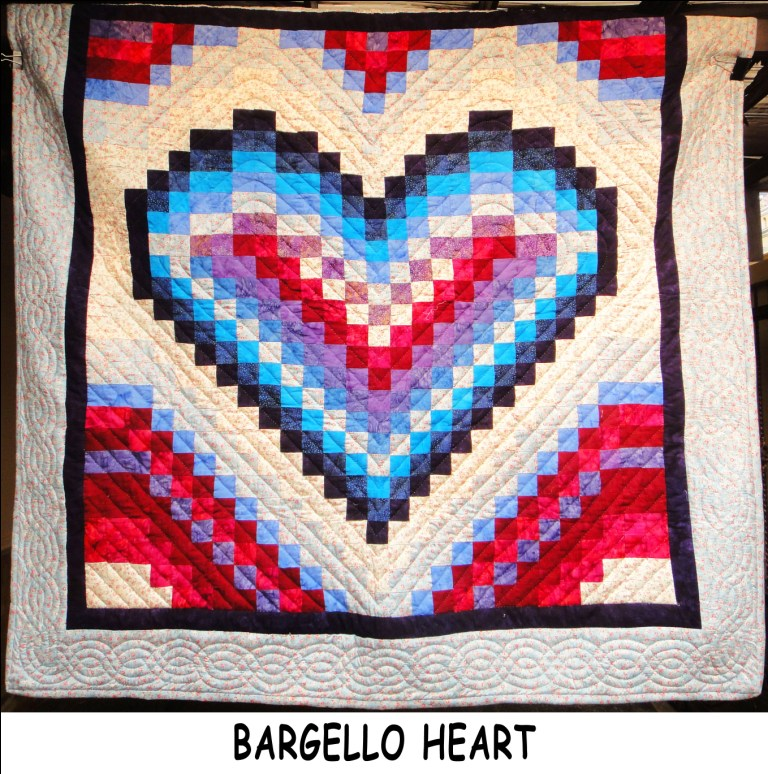 Bargello Heart Simply The Best Quilts