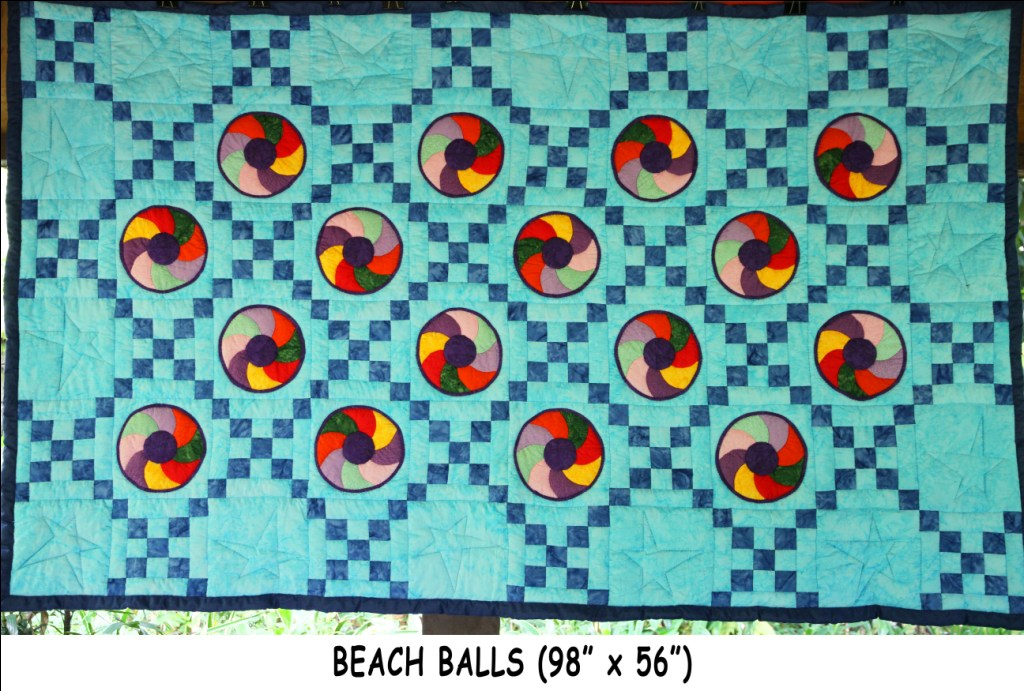 Beach Balls 98 X 56 Simply The Best Quilts