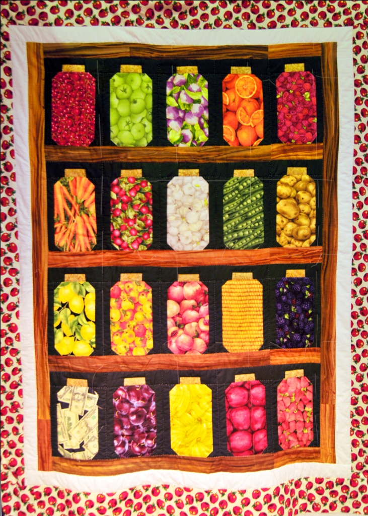 Fruit Jar Quilt Wall Hanging Simply The Best Quilts
