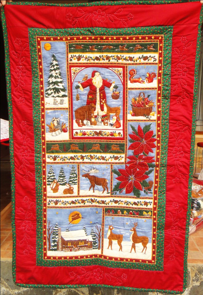Santa Christmas Wall Hanging Simply The Best Quilts