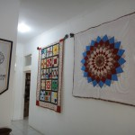 ANZA House Jakarta Quilt Display