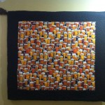 Beer Glasses Collection Quilt - a wall hanging
