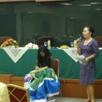 Quilt Presentation - Handmade Fabric Art at Attorney General Office Jakarta