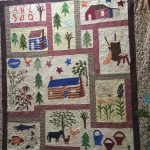 Across the Wide Missouri:A Quilt Reflecting Life on the Frontier.