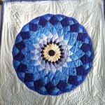 Blue Dahlia Quilt