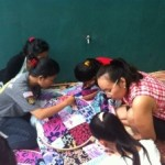 Quilt Training for Under Privilege Teenagers