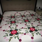The Rose of Sharon King Size Quilt