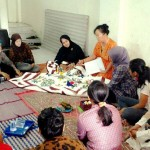 Quilting Training for Housewives in Tanah Abang, Jakarta Pusat - Woman Empowerment Program